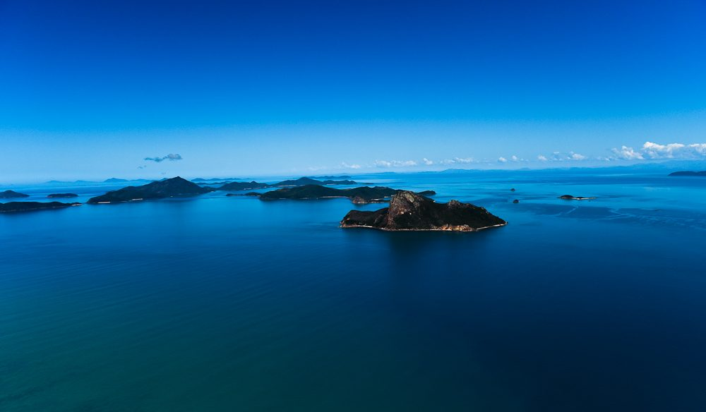 Deepest blue: Whitsundays Aerial view (Steve Madgwick)