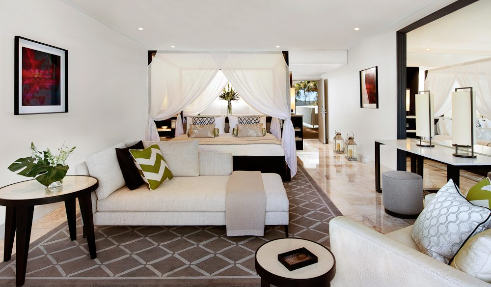 Chic and spacious Hayman Suite, One&Only Hayman Island.