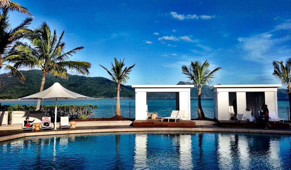 Exclusive pool cabanas (bookings only): One&Only Hayman Island.