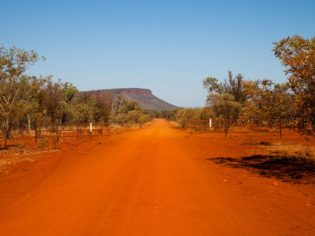 Red it: Gibb River Road, The Kimberley.