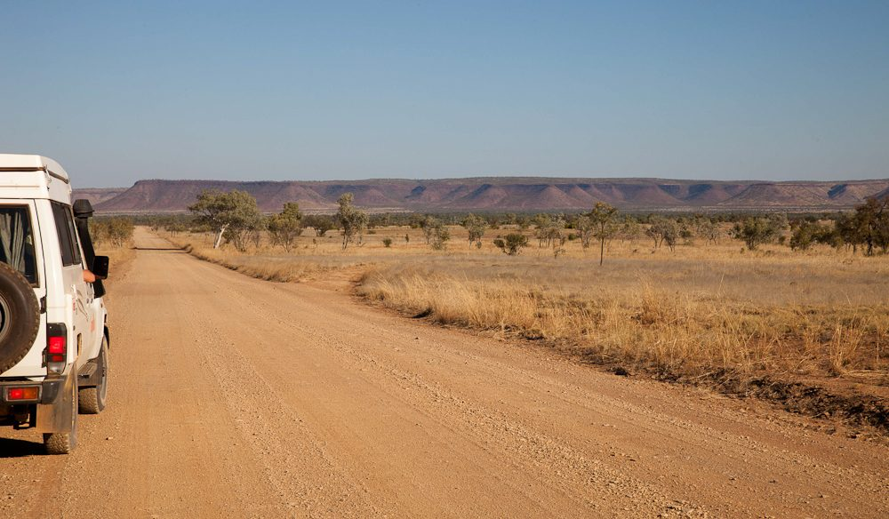 Distance Australian style: Gibb River Road, The Kimberley.