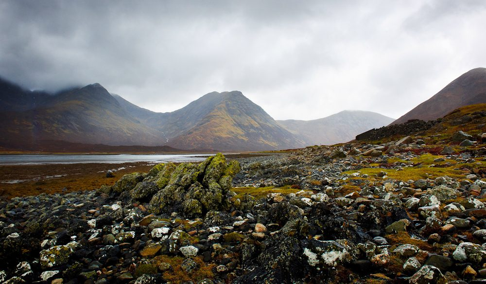 Travel snap brilliance: Black Cullins, Scotland (copyright: David Oliver)