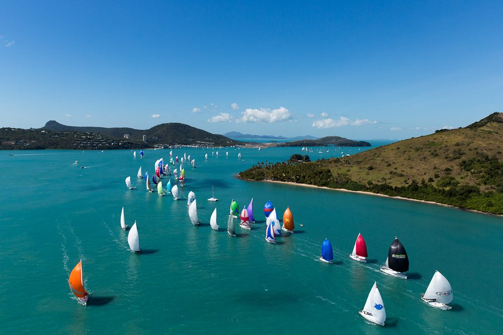 Audi Hamilton Island Race week is all about the sailing - well, not really.