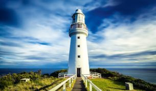Cape Otway Lightstation, Great Ocean Road, Victoria.