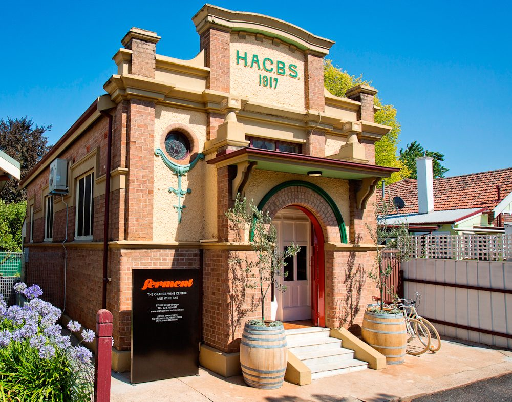 Ferment wines, Orange, NSW.