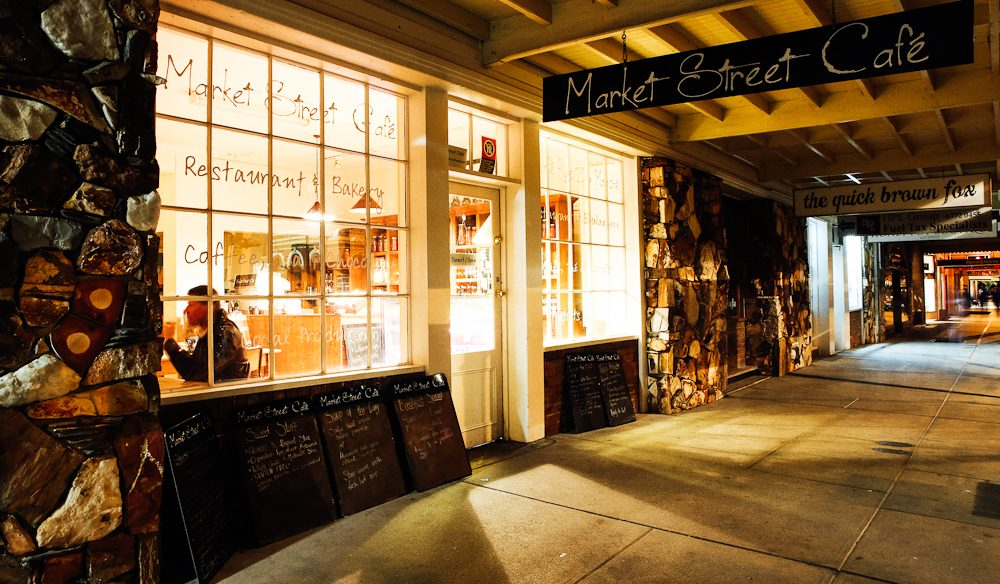 Market Street Café serves up French-style cooking with fresh Mudgee produce.