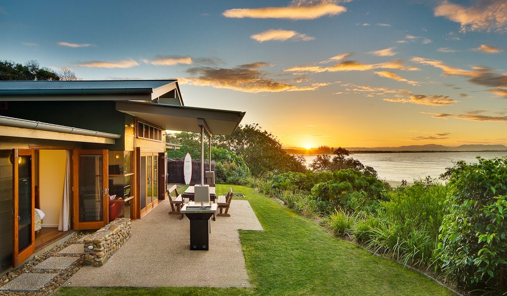 Mildenhall Cottage, close to one of Byron Bay's best beaches.