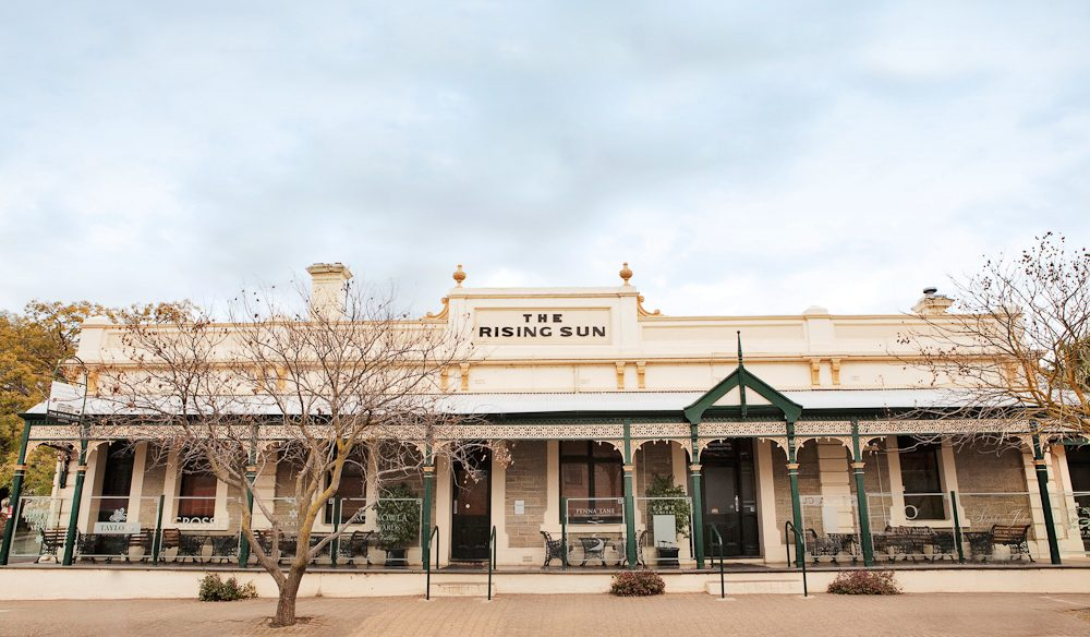 The Rising Sun Hotel, Auburn, Clare Valley, SA.