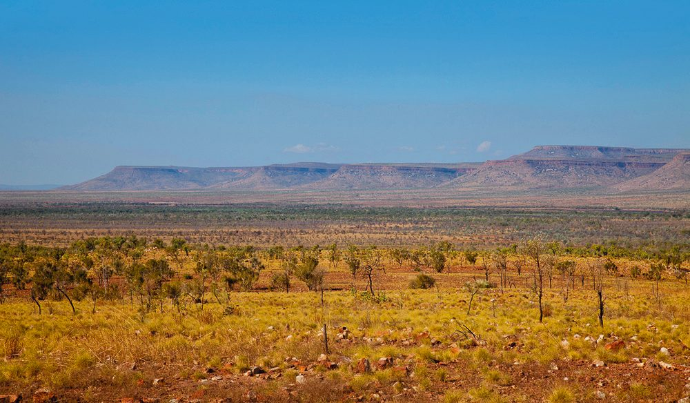The spectacular Cockburn Ranges, between Ellenbrae and El Questro.