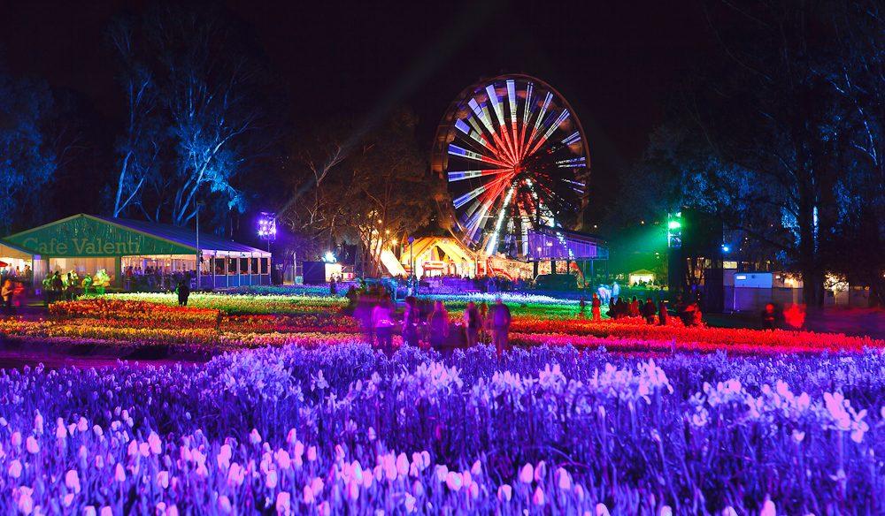 Nightfest at Floriade 2013