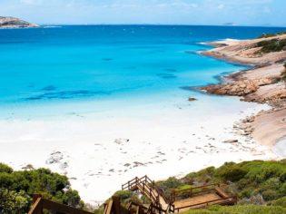 The white sands of Esperance, Western Australia.