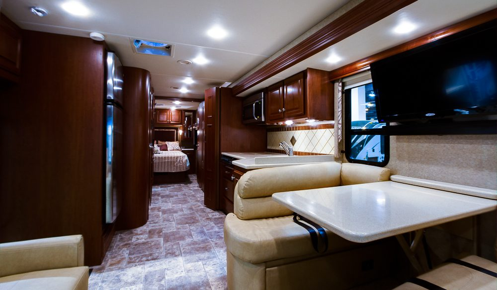 The RV, a home away from home, for some.