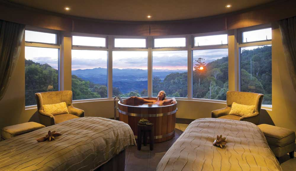 Lamington National Park view - O'Reilly's Rainforest Retreat.