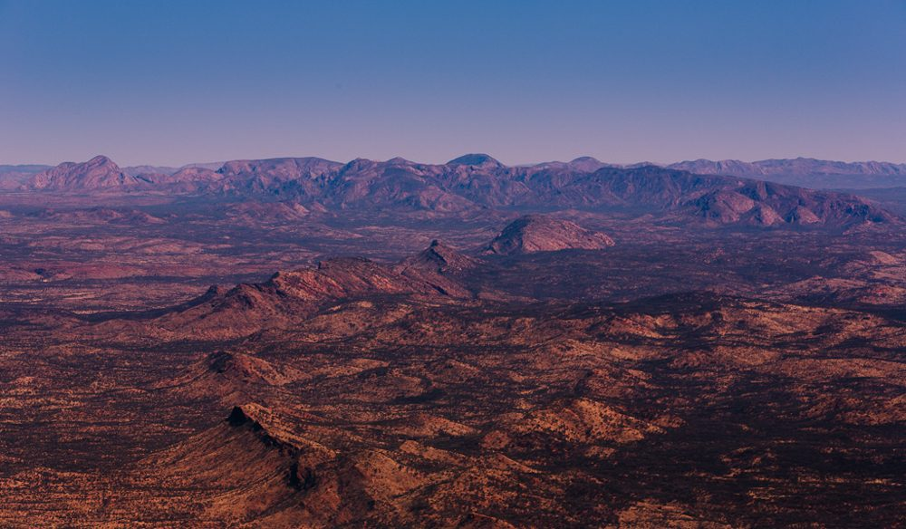 Northern Territory's spectacular & relentless outback: (photo: www.melissa-findley.com).