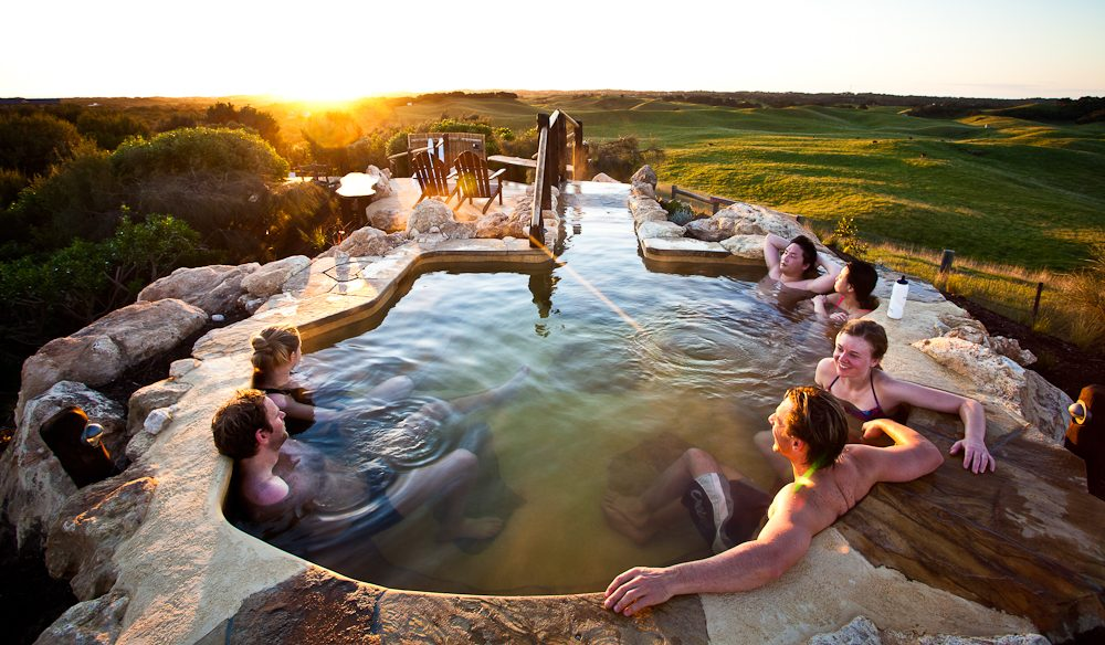 Peninsula Hot Springs, Mornington Peninsula, Voted the Best Luxury Spa' in the 2014 World Luxury Hotels Awards.