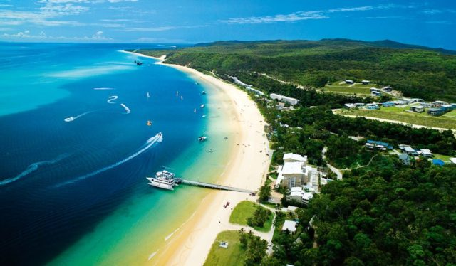 Tangalooma Island Resort, Moreton Island Resort, Queensland.