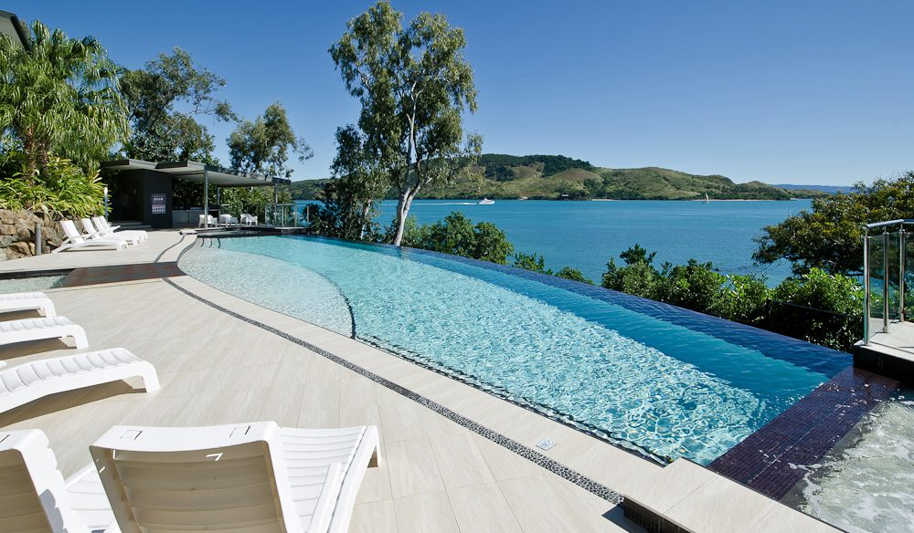 Pool or sea? Tough choice in the Whitsundays.