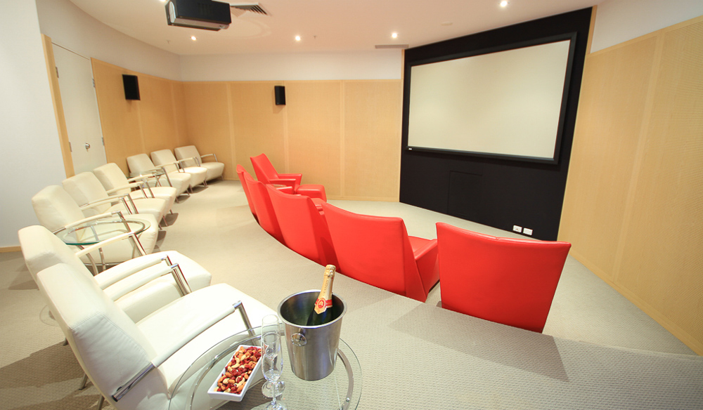 Movie room Oceans Mooloolaba