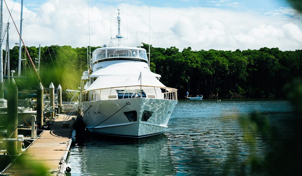 Extend your Crystalbrook Lodge trip on one of its suitably luxe yachts. (photo: Elise Hassey)