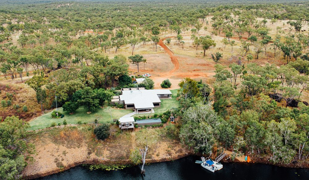 Outback water views: Crystalbrook Lodge (photo: Elise Hassey)