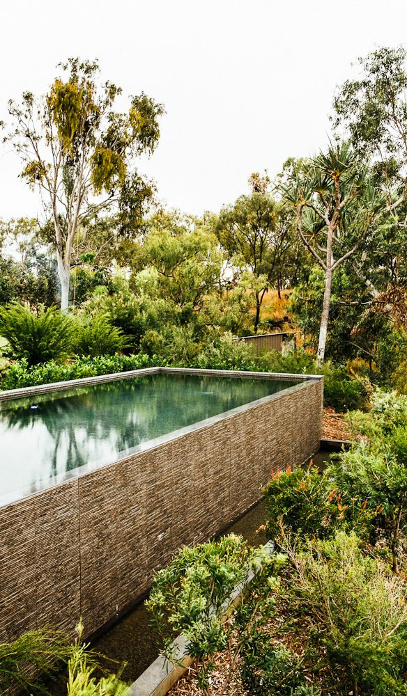The magnesium wet-edge pool awaits you each afternoon...Crystalbrook Lodge (photo: Elise Hassey)