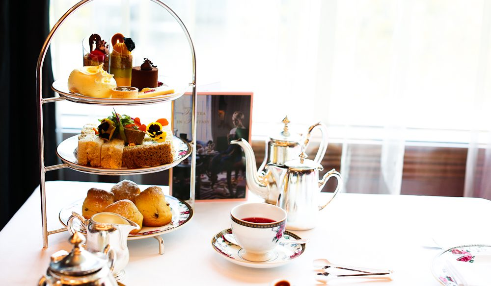 The Langham, Melbourne offers an array of high tea events.
