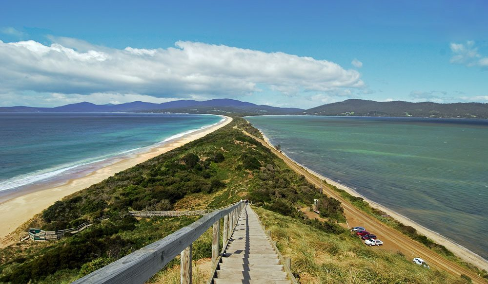 Superb scenery, sublime cuisine - Bruny Island, Tasmania.