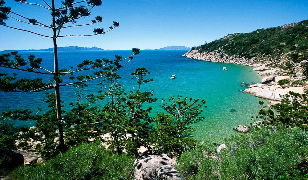 Feeling the azure attraction? Rocky Bay, Magnetic Island.