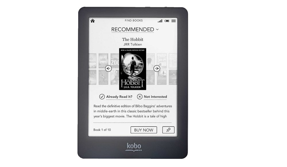 Kobo's 'waterproof' e-reader book