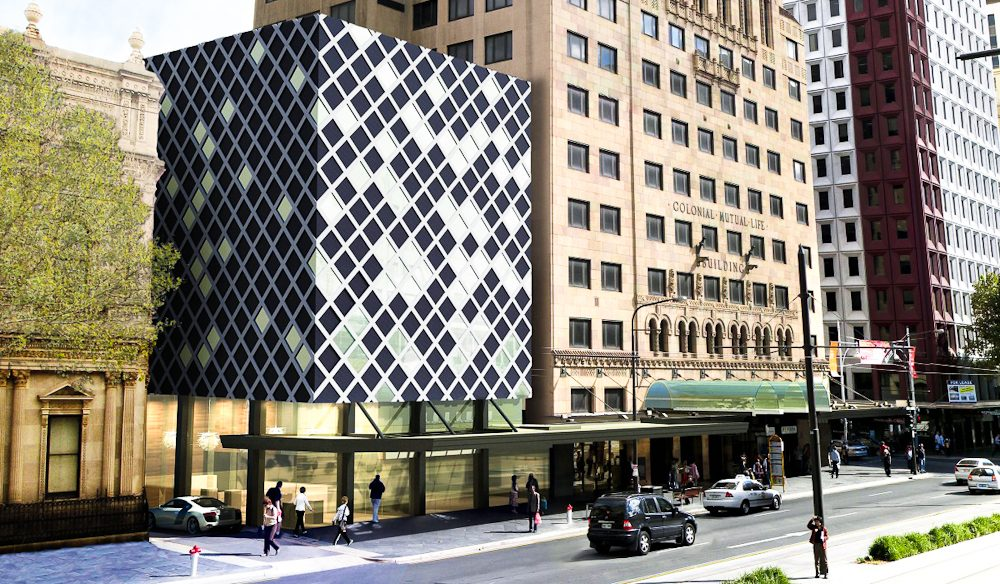 The brand new five-star Mayfair Hotel, Adelaide.