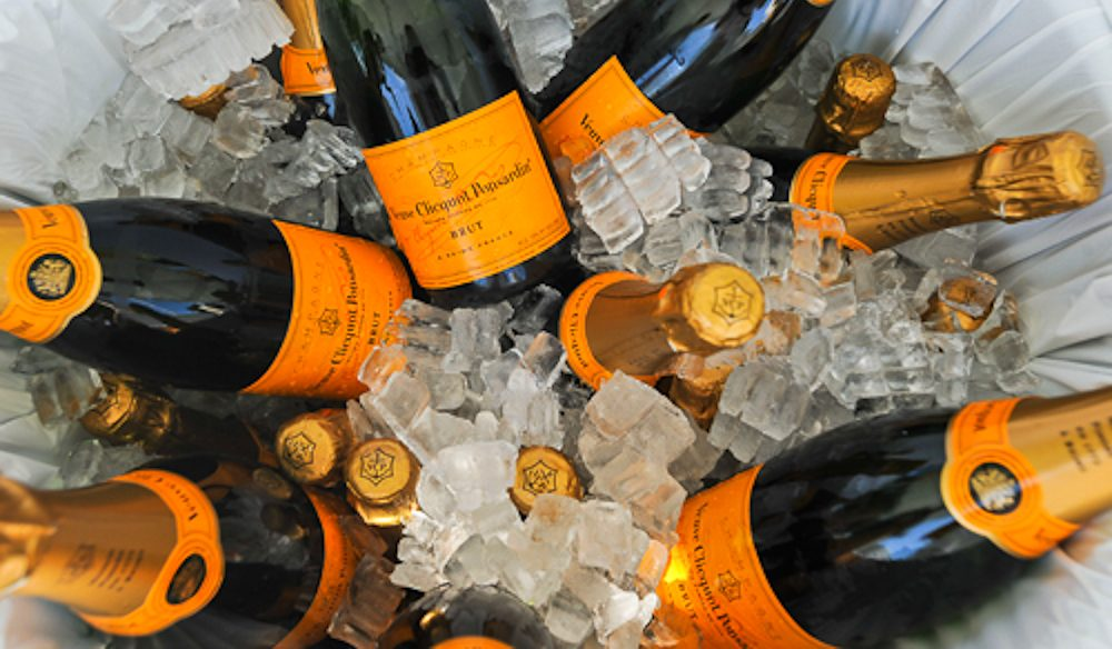 Collaborations with Moet Hennessy and Diageo means TRYP's bar features Veuve Clicqot as its first pour champagne.
