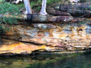 Hawkesbury River aboriginal art site