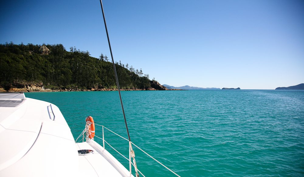 D.I.Y. cruising in the Whitsundays.