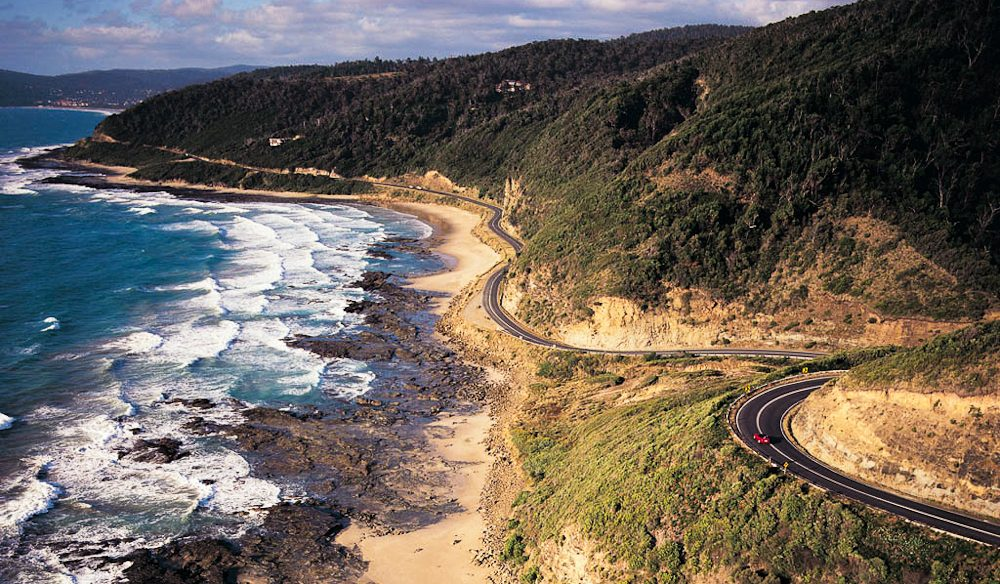 70 per cent of you said the Great Ocean Road was the greatest road trip.