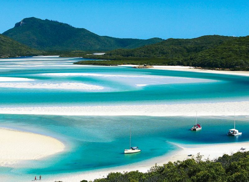 Number one in Australia (and maybe the world) Whitehaven Beach, Whitsunday Island