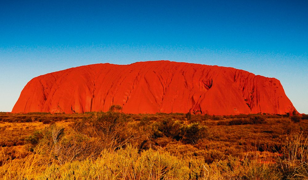 Uluru for you - 2015's 'Dream Experience', as voted by Australian Traveller readers.