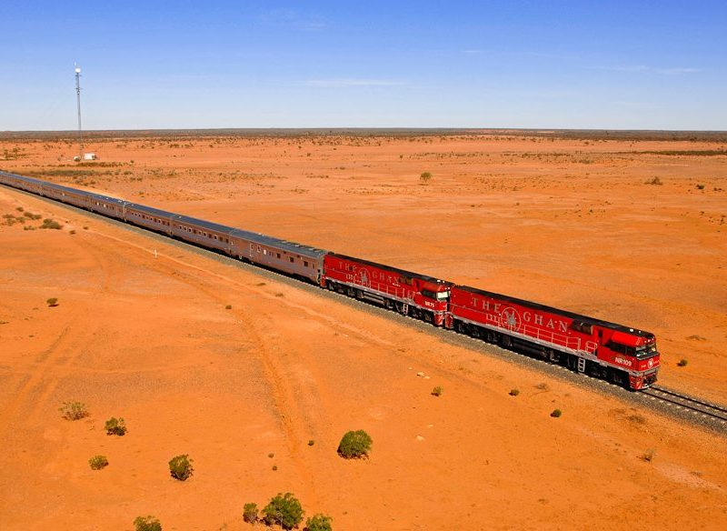 Perennial fave The Ghan is even extending its service.