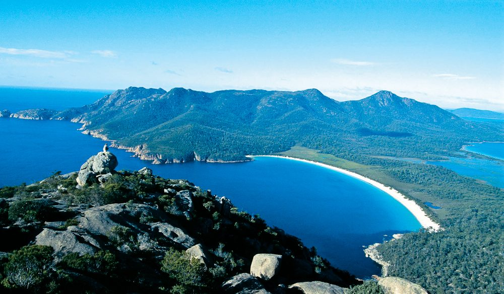 Tasmania (Wineglass Bay) was 2015's most coveted destination.