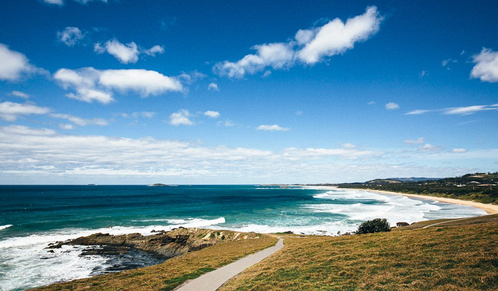 Coffs secret: Emerald Beach (photo: Elise Hassey).