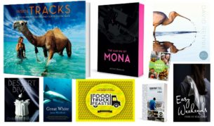 Santa suggests these travel and foodie books for your loved ones this Christmas.