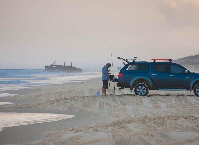 75 Mile Beach Maheno Shipwreck Fraser Island