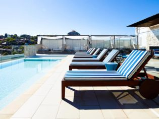 'That pool' - InterContinental Sydney Double Bay.