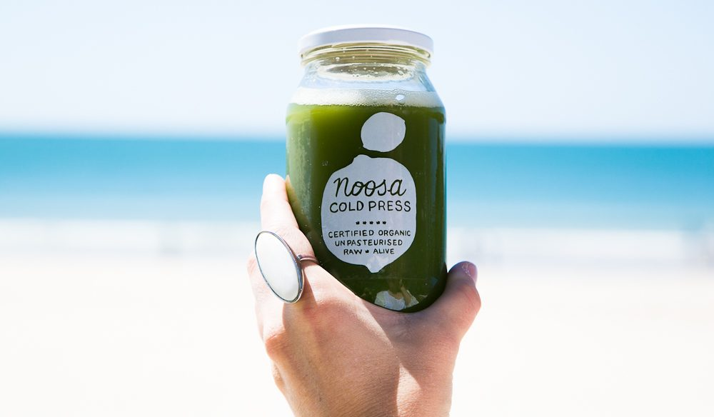 So Noosa - Noosa Cold Press juice.