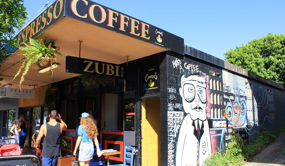 Zubi Espresso Bar, Newport - best coffee on the Northern Beaches? (photo: Greg Stonehouse)