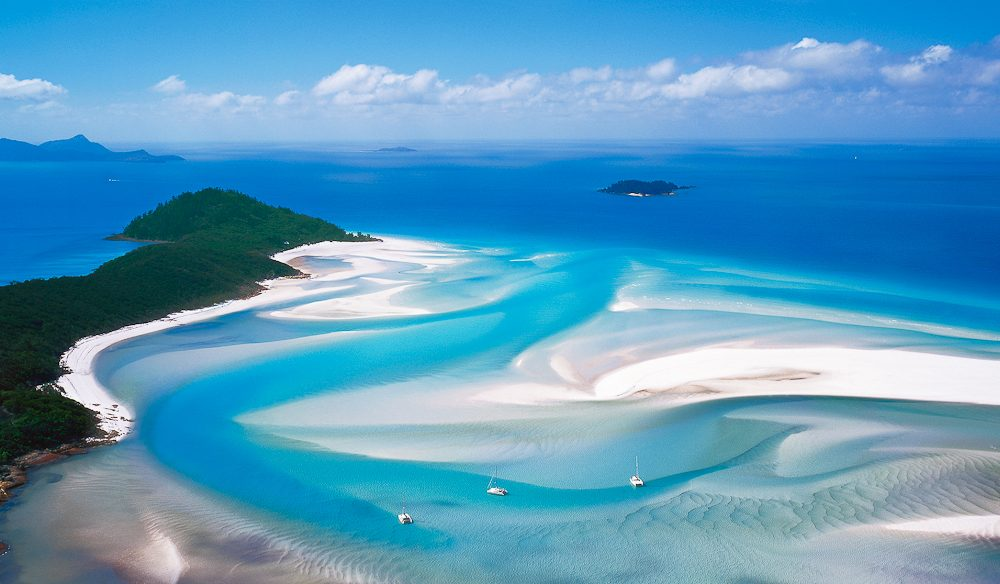 Blue view: Hill Inlet, Whitsunday Island (Ken Duncan).