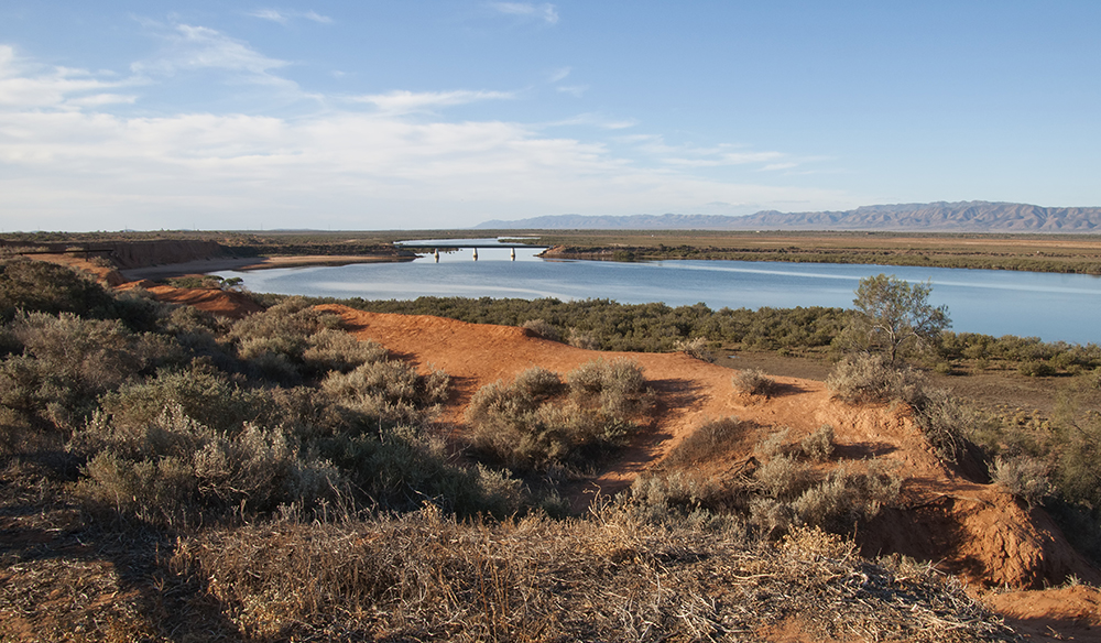 Pass Port Augusta and you know you're on the right track