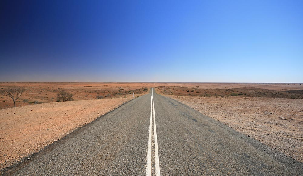 Driving the Nullarbor