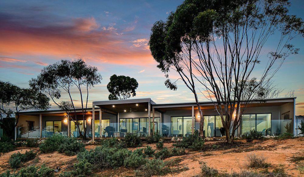 Murray River-side - Pike River Eco Lodge, Lyrup, South Australia.