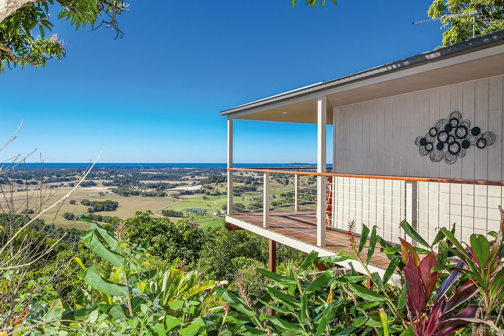 View with a hue: Byron Bay hinterland accommodation option: Byron's Secret.