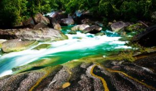 Devil's Pool at Babinda Boulders, near Cairns, Queensland
